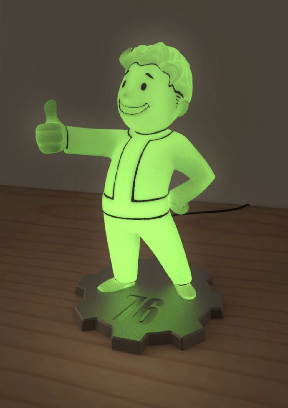 Fallout 76 Lampe Led Vault Boy Reference Gaming