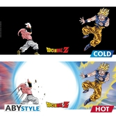 Dragon Ball Z - Mug Heat Change - 460 ml - Goku vs Buu - boîte x2