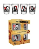 The Walking Dead  4 verres shooters  20ml