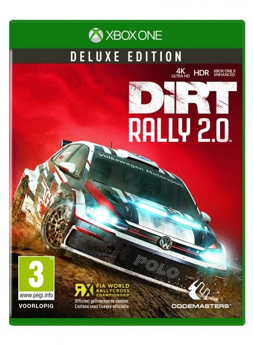 dirt rally 2 0 deluxe edition xbox one r f rence gaming. Black Bedroom Furniture Sets. Home Design Ideas