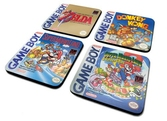 Nintendo- sous-verre gameboy classic collection x4