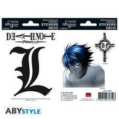 Death note - stickers - 16x11cm / 2 planches - l
