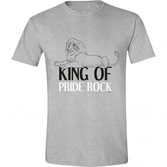 Disney - t-shirt - le roi lion : king of the jungle (s)