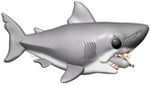 Jaws - bobble head pop n° xxx - jaws with diving tank oversize