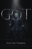 Game of thrones - poster 61x91 - the night king for the throne