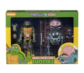 Tmnt - action figure - donatello vs krang - 18cm