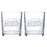 Game of thrones - tumblers 'set of 2' - white walker