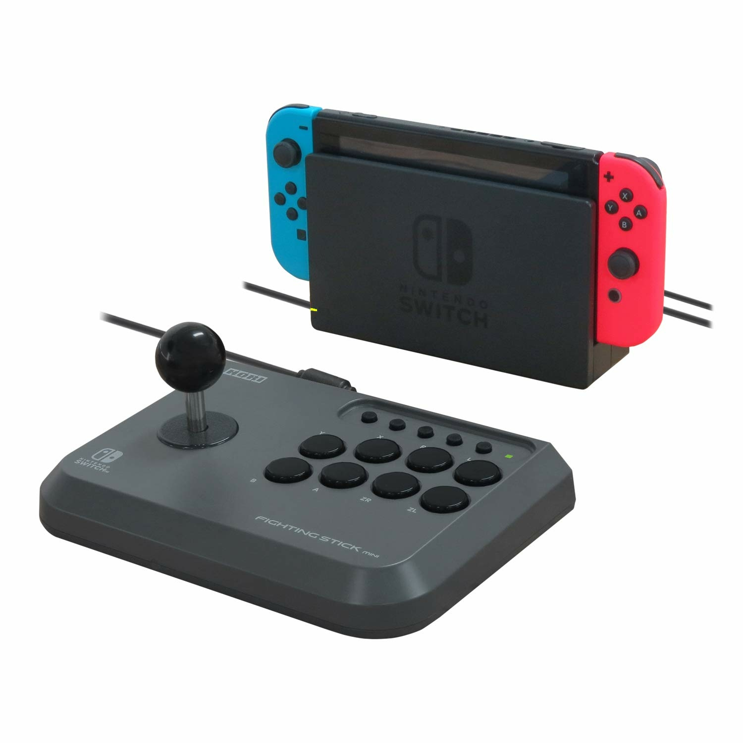 Stick arcade - fightstick mini pour switch