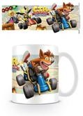 Crash bandicoot - mug - 315 ml - ctr fight for first place