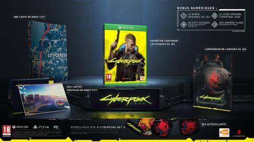 Cyberpunk 2077 Day One édition - XBOX ONE