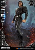 Statuette Superman Black Version Prime 1