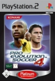 PES 4 : Pro Evolution Soccer édition Platinum - Playstation 2
