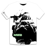 T-Shirt Call Of Duty Modern Warfare 2 Motoneige - Taille XL