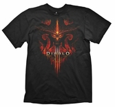 T-Shirt Diablo III Burning - Taille XL