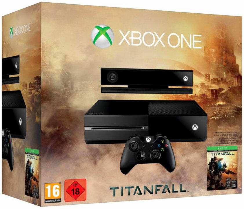 console xbox one 500 go kinect titanfall acheter vendre sur r f rence gaming. Black Bedroom Furniture Sets. Home Design Ideas