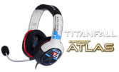 Casque Turtle Beach - édition Titanfall - Ear Force ATLAS