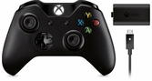Manette sans fil + Kit de chargement Play & Charge - XBOX ONE