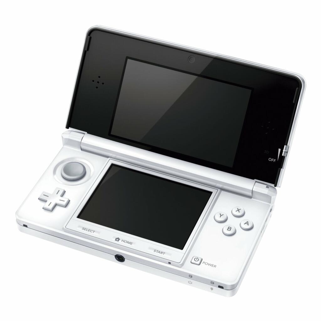 console 3ds blanc arctique 3ds acheter vendre sur r f rence gaming. Black Bedroom Furniture Sets. Home Design Ideas