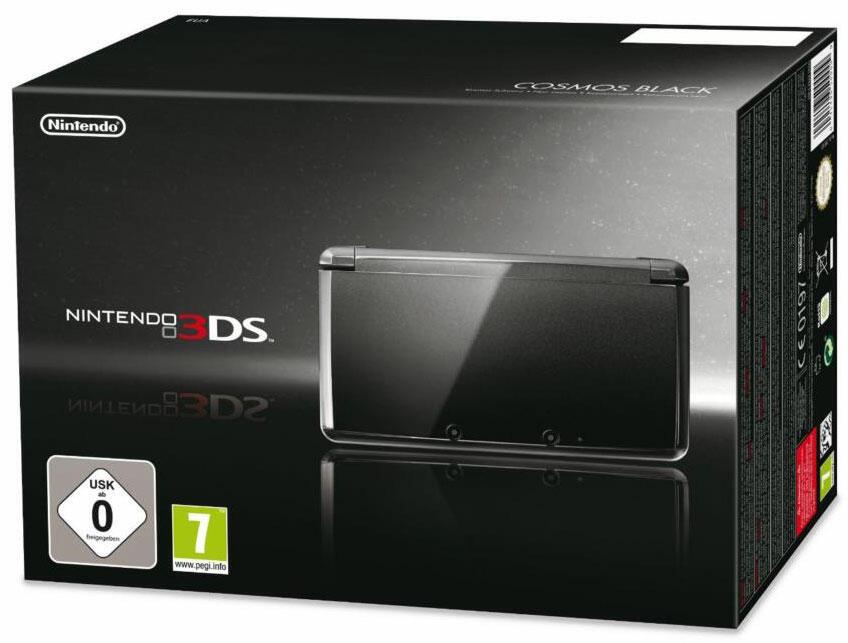 Console 3ds noir cosmos 3ds acheter vendre sur for Ecran noir appareil photo 3ds