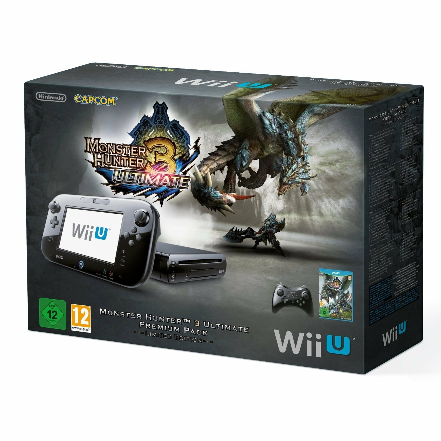 what is the resolution of the wii u gamepad