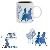 Frozen 2 - mug 320 ml - silhouettes - subli