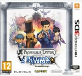 Professeur Layton Vs Phoenix Wright Ace Attorney - 3DS