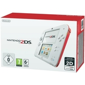 Console 2DS blanc & rouge