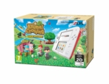 Console 2DS rouge & blanc + ANIMAL CROSSING