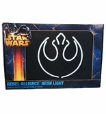 Lampe Néon Star Wars Alliance Rebel Logo - 16 X 32 cm