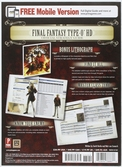 Guide Final Fantasy Type-0 HD - Import US